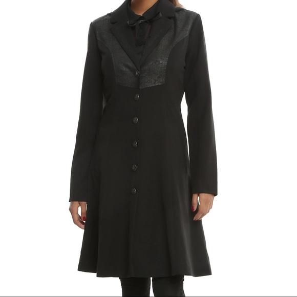 Women's Harry Potter Deathly Hallows coat NWT